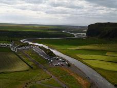 森林瀑布-冰岛南部区-zwx1965