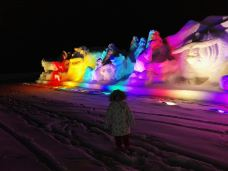 崇礼首届雪雕文化艺术节-崇礼区-潇潇爱爱