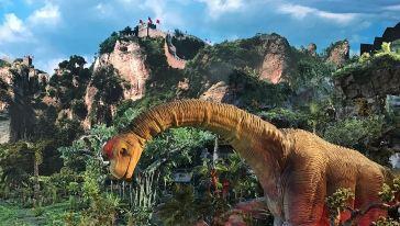 《远去的恐龙》