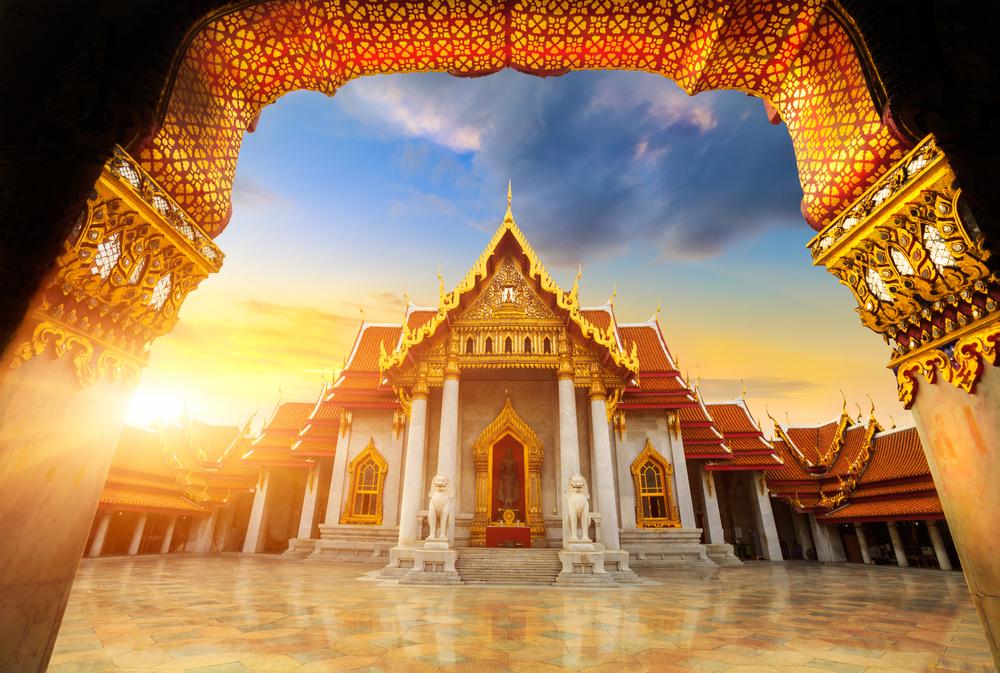 云石寺  Wat Benchamabophit   -4