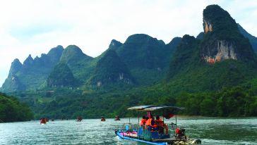 漓江竹筏 (1)
