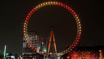 倫敦眼新年1
