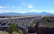 格兰德河峡大桥-陶斯
