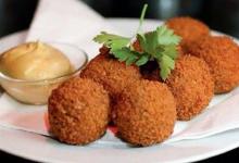 阿姆斯特丹美食图片-炸肉丸