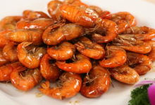 湖州美食图片-油爆虾