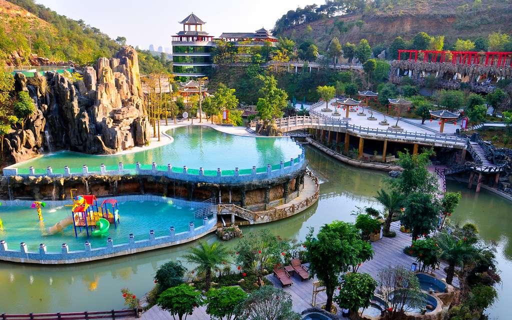 Longmen Shuidu Hot Springs Resort Admission Ticket