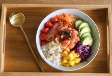 檀香山美食图片-海鲜盖饭