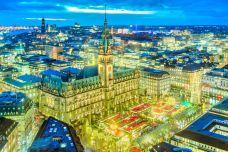 汉堡市政厅-汉堡-doris圈圈