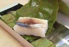 奈良美食图片-柿叶寿司