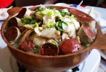 吉林市美食图片-杀猪菜