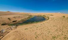 腾格里沙漠月亮湖-阿拉善左旗-尊敬的会员