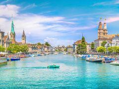 瑞士全景风光8日环游