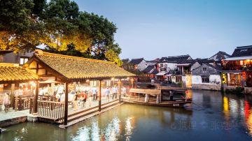 西塘古镇夜景