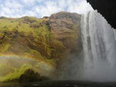 森林瀑布-冰岛南部区-天生哥