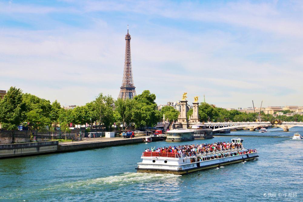 法国巴黎_塞纳河游船 (1)