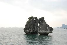 斗鸡石-下龙湾-牛奶海