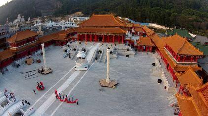清明皇宫全景