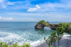 海神庙-巴厘岛-是条胳膊