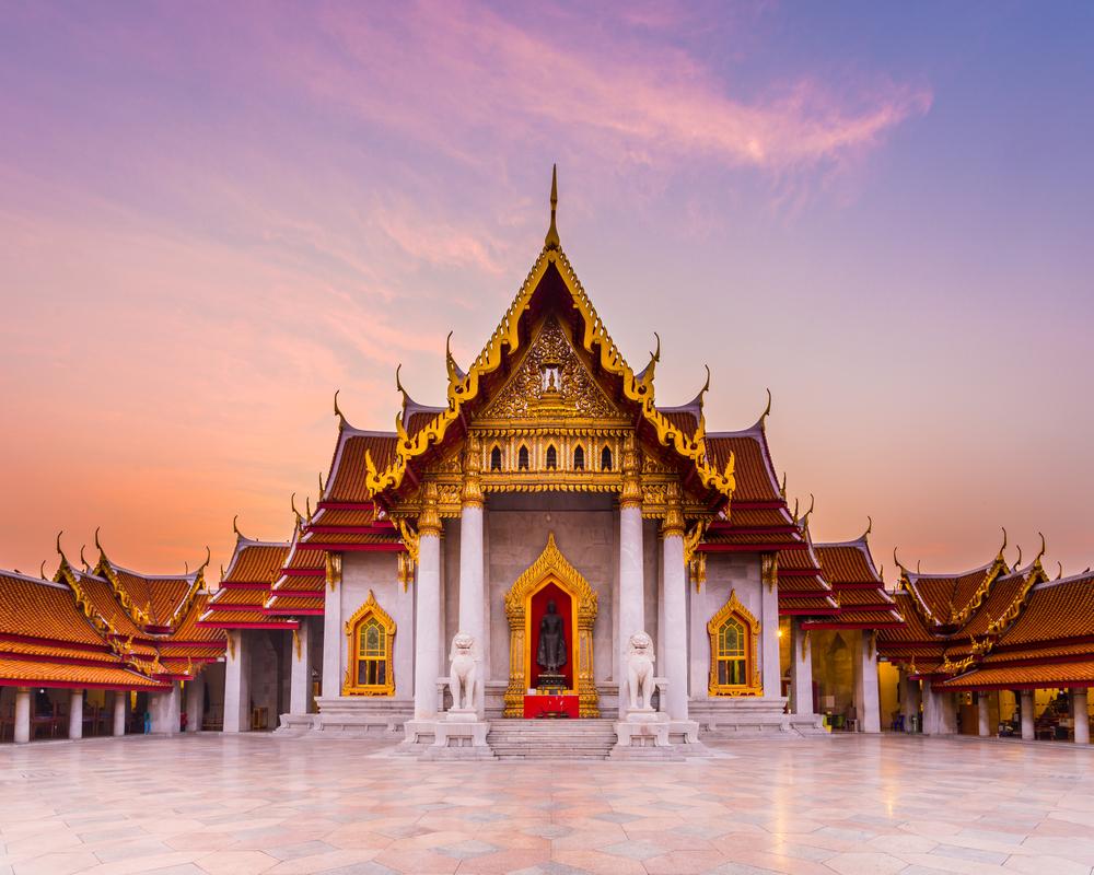 云石寺  Wat Benchamabophit   -2