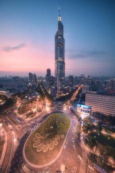 紫峰大厦观光层-南京-大大大皮怪