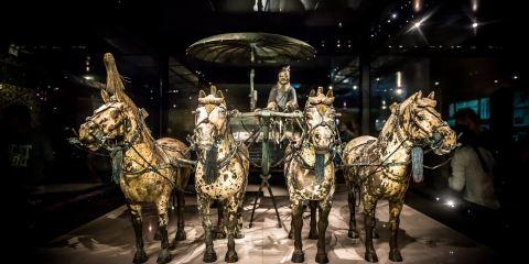 秦陵銅車馬