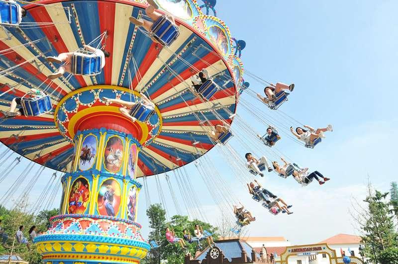 Chengdu Wenjiang Guosetianxiang Theme Park