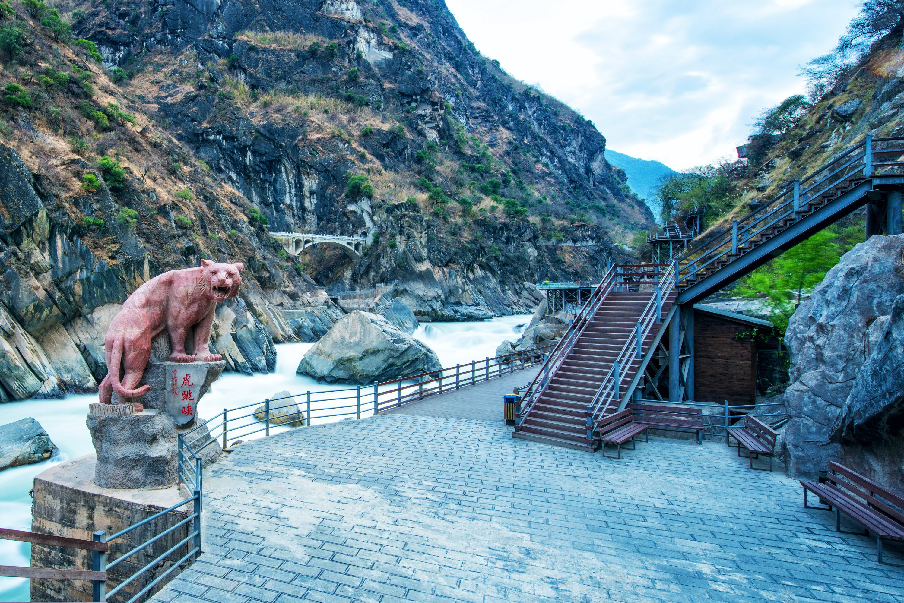 Tiger Leaping Gorge (Shangri-La section) Ticket
