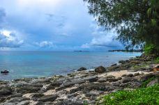 塔加海滩-天宁岛-是条胳膊