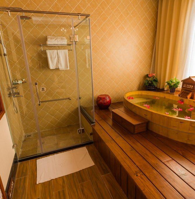 泡澡房装修效果图