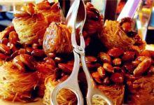 阿布扎比美食图片-阿拉伯甜点