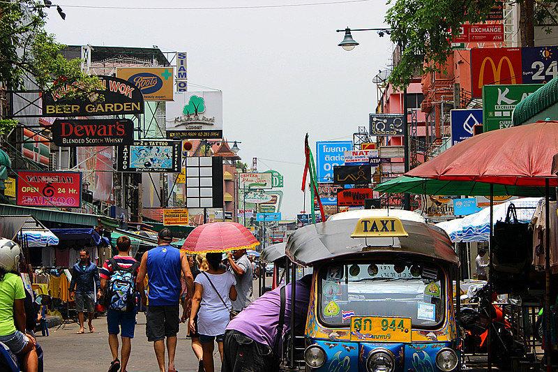 考山路  Khao San Road   -1