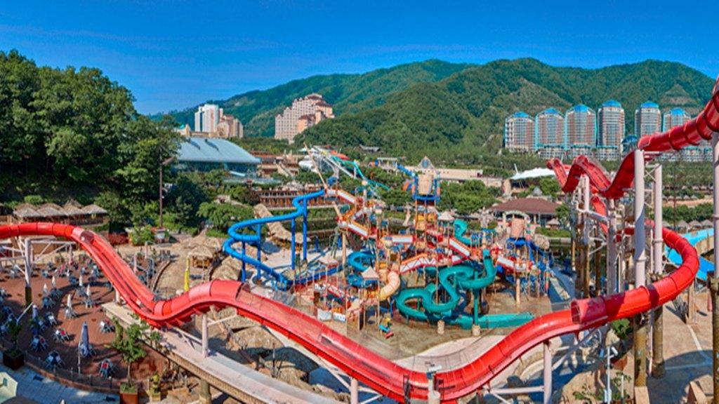 韓國大明維瓦爾第Ocean World水上樂園(免費接駁車接送,有趣好玩的水上樂園)
