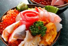 北海道美食图片-海鲜盖饭