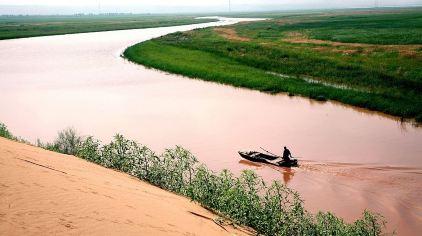 黄沙古渡大漠黄河、塞上江南