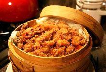 西塘美食图片-粉蒸肉
