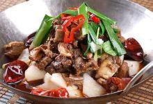 乐山美食图片-跷脚牛肉