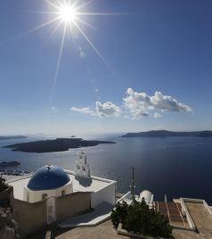 天堂岛游记图文-美丽的米克诺斯岛-圣托里尼岛(希腊)
