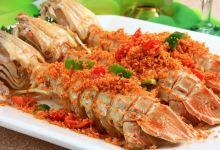 普吉岛美食图片-椒盐濑尿虾