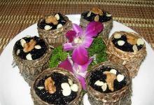 乌镇美食图片-粽香乌米饭