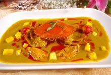 苏梅岛美食图片-泰式咖喱蟹