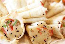 南京美食图片-梅花糕