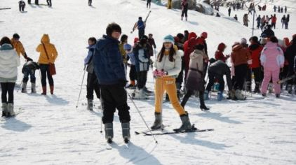 茶山滑雪场8