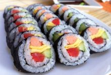 延吉美食图片-紫菜包饭