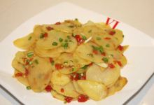 宜昌美食图片-木姜子土豆片