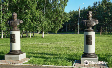 Memorial Complex to CItizens of Komsomolsk-on-Amur Who Died During the Great Patriotic War-阿穆尔河畔共青城